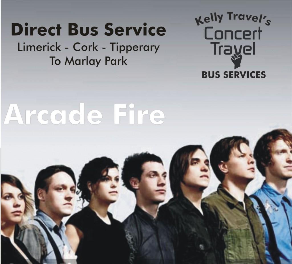 Arcade Fire w logo