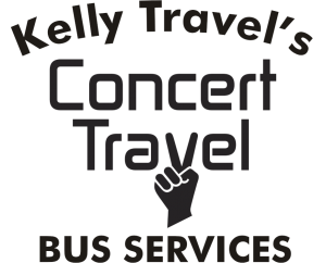 Concert Travel Logo with Kelly Travel
