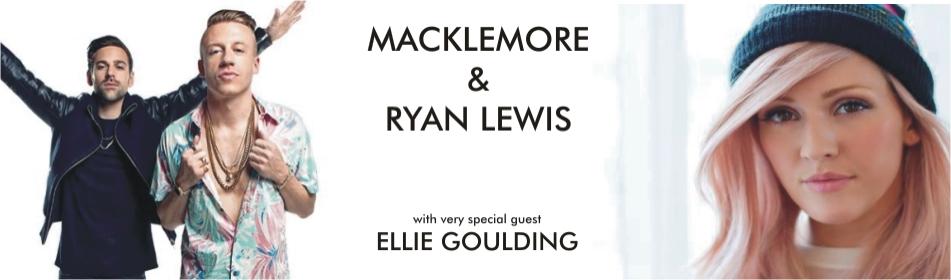 KT Banner Macklemore Ryan Lewis Ellie Goulding