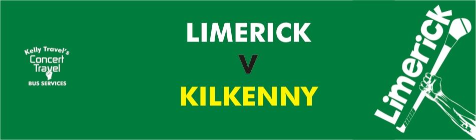 KT Banner Limerick V Kilkenny