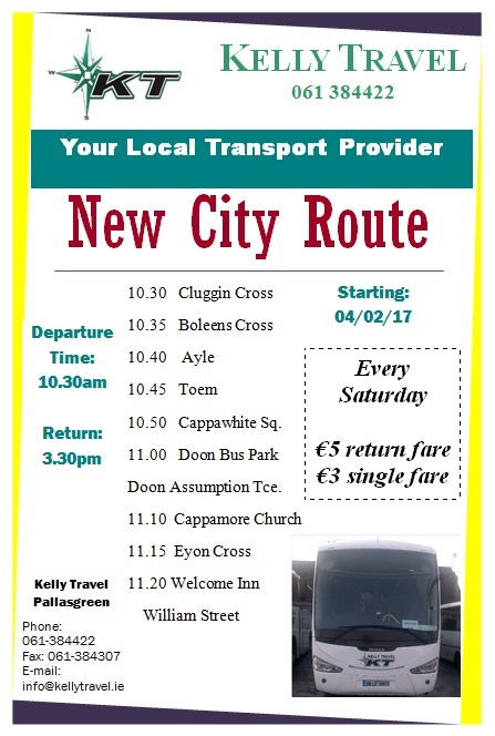New city route