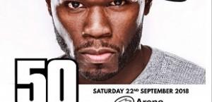 50 Cent Concert Bus