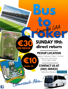 Bus Service for All Ireland Final