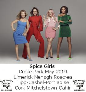 Spice Girls Croke Park Concert Bus