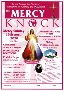 Bus To Knock for Divine Mercy