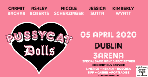 Pussycat Dolls Concert Bus