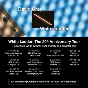 David Gray White Ladder Dublin